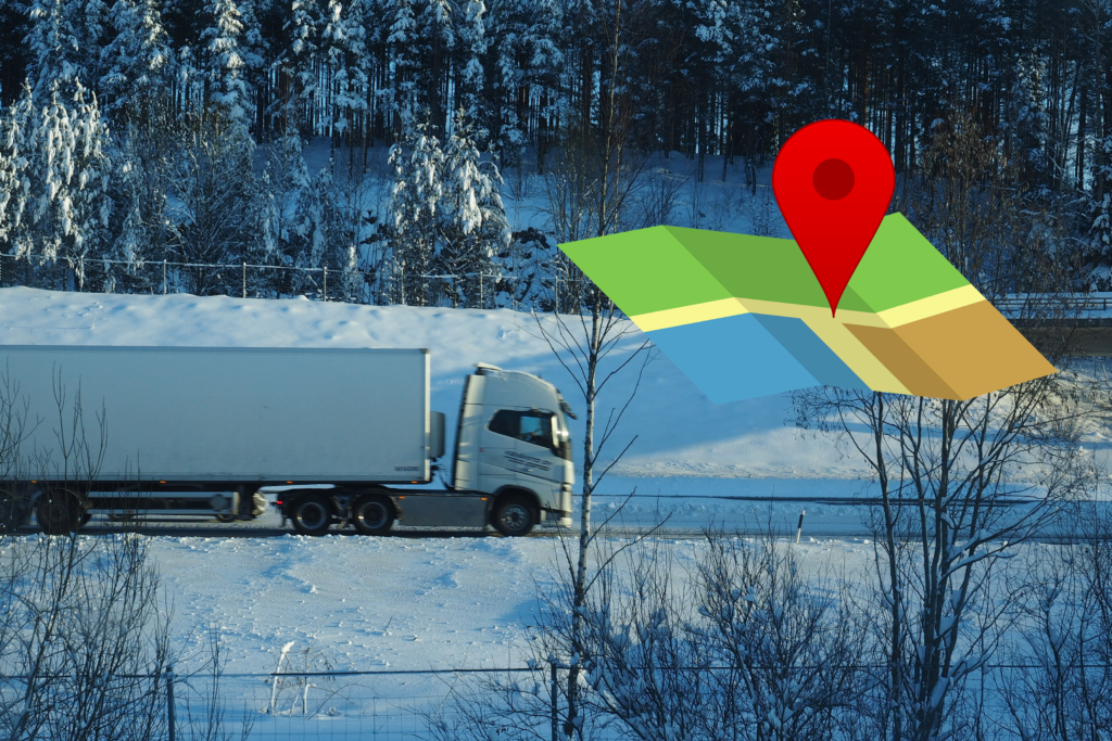 On road cargo IoT tracking